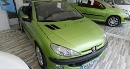 PEUGEOT 206 CABRIO 2.0 (Gasolina) 138cv.